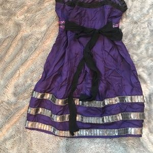 Purple Twelve by Twelve Juniors Dress Size Medium